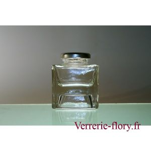 Lot de 24 pots en verre empilable 106 ml T43